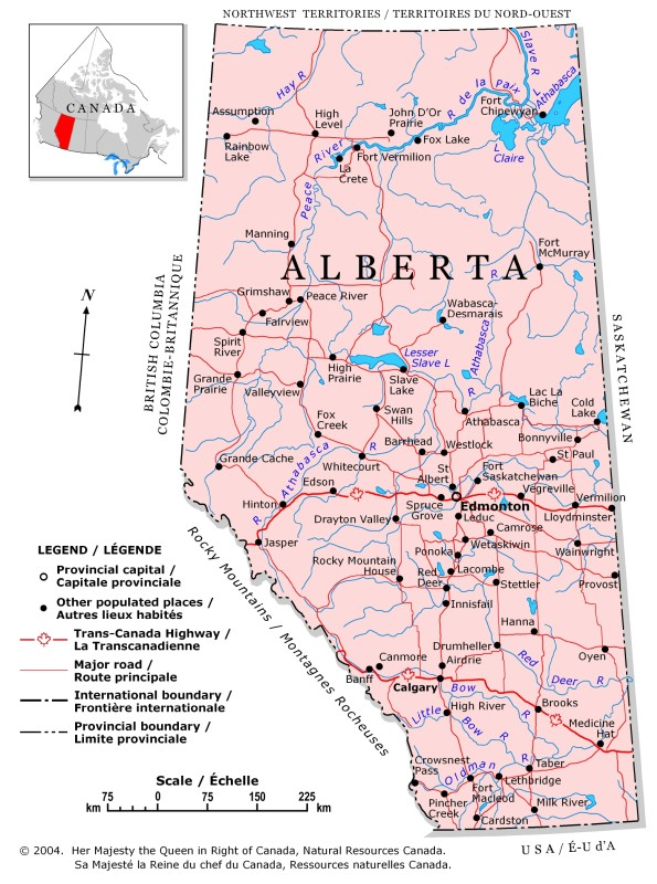 Northern Alberta Map Northern Alberta Map | compressportnederland Northern Alberta Map