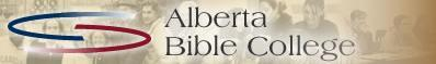 Alberta Bible College - logo